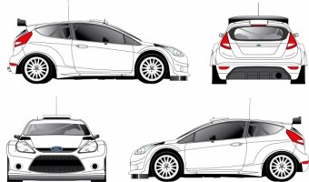Ford Fiesta S2000 parts