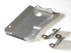 Rear Diff. Guard Mitsubishi Evo10, Aluminium Alloy