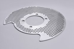 Rear brake disc cover (guard&cooler) for EvoX