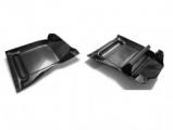 Subaru Impreza Carbon fiber floor mats.