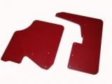 Mudflaps Subaru Impreza N14, 4mm thick